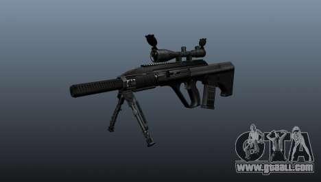 Automatic rifle Steyr AUG3 for GTA 4