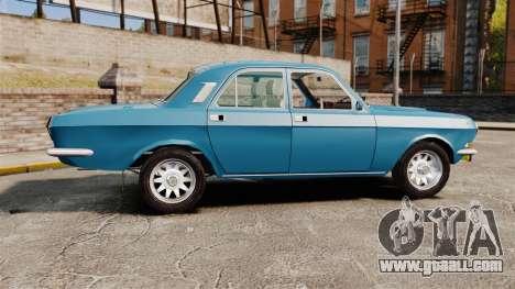 Gaz-2410 Volga v3 for GTA 4 left view