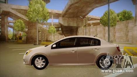 Nissan Sentra S 2008 for GTA San Andreas back left view