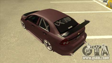 Chevrolet Aveo LT Tuning for GTA San Andreas back view