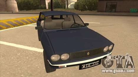 Renault 12 Break for GTA San Andreas left view