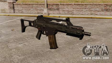HK G36C assault rifle v1 for GTA 4