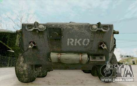 BTR-80 for GTA San Andreas side view