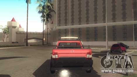Fiat Strada Locker 2013 for GTA San Andreas right view