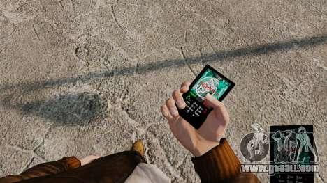 Themes for phone Vampire The Masquerade for GTA 4 ninth screenshot