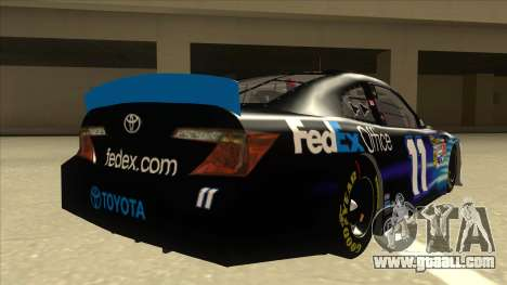 Toyota Camry NASCAR No. 11 FedEx Office for GTA San Andreas right view