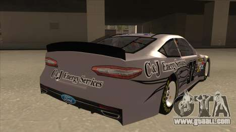 Ford Fusion NASCAR No. 32 C&J Energy services for GTA San Andreas right view