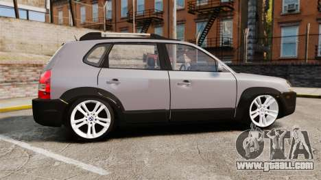 Hyundai Tucson for GTA 4 left view