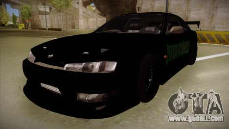 Nissan s14 200sx [WAD]HD for GTA San Andreas