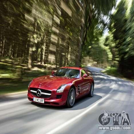 Loading screens Mercedes-Benz for GTA 4 fifth screenshot
