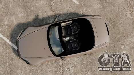 Honda S2000 for GTA 4 right view