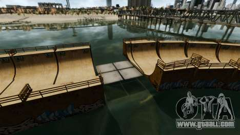Drawbridges for GTA 4 second screenshot