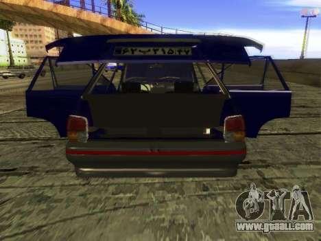 Kia Pride Hatchback for GTA San Andreas side view