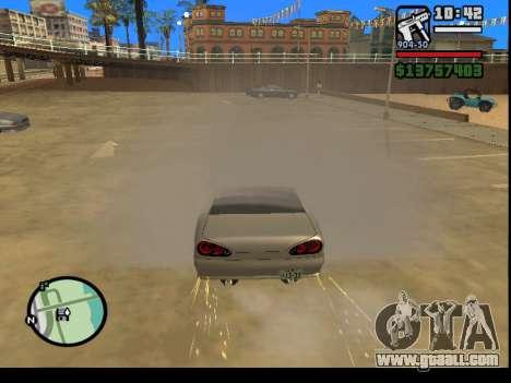 GTA V to SA: Burnout RRMS Edition for GTA San Andreas forth screenshot