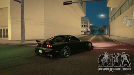 Mazda RX-7 STANCENATION for GTA San Andreas upper view