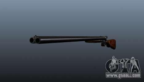 Double barrel shotgun for GTA 4