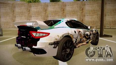 Maserati Gran Turismo MC 2009 for GTA San Andreas right view