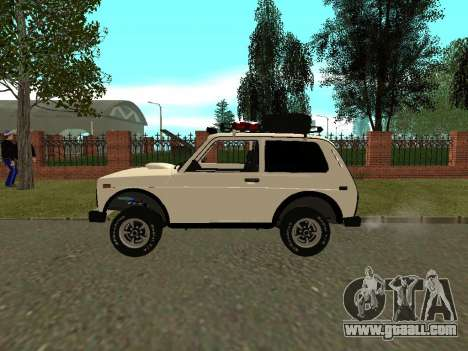 VAZ 21213 Niva for GTA San Andreas left view