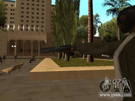 WeaponStyles for GTA San Andreas ninth screenshot
