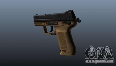Gun HK45C v3 for GTA 4 second screenshot