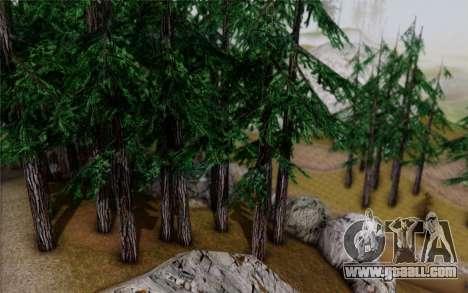 New vegetation 2013 for GTA San Andreas sixth screenshot