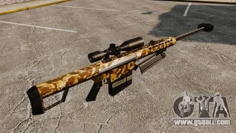The Barrett M82 sniper rifle v9 for GTA 4 second screenshot