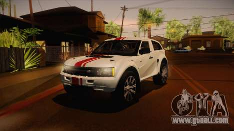 Bowler EXR S 2012 IVF + AD for GTA San Andreas