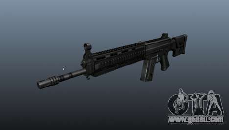 Rifle SIG SG 751 v2 for GTA 4