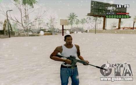 The M4a1 for GTA San Andreas sixth screenshot