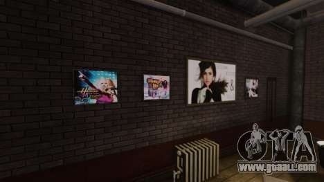 New posters in the apartment of Playboy X for GTA 4 forth screenshot