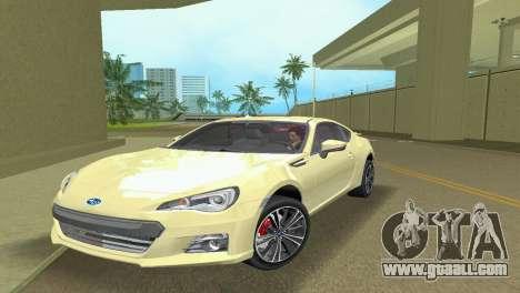 Subaru BRZ Type 1 for GTA Vice City