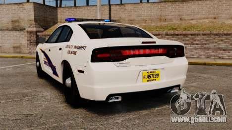 Dodge Charger 2013 AST [ELS] for GTA 4 back left view