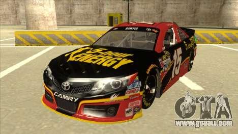 Toyota Camry NASCAR No. 15 5-hour Energy for GTA San Andreas