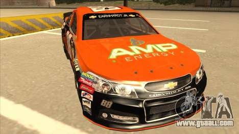Chevrolet SS NASCAR No. 88 Amp Energy for GTA San Andreas left view