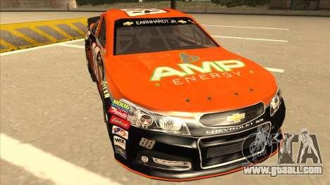 Chevrolet SS NASCAR No. 88 Amp Energy for GTA San Andreas left view