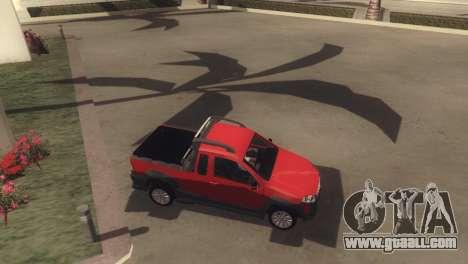 Fiat Strada Locker 2013 for GTA San Andreas side view