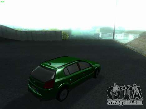 Opel Signum Kombi 1.9 CDi for GTA San Andreas back left view