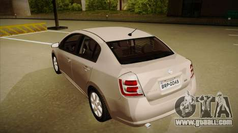 Nissan Sentra S 2008 for GTA San Andreas back view