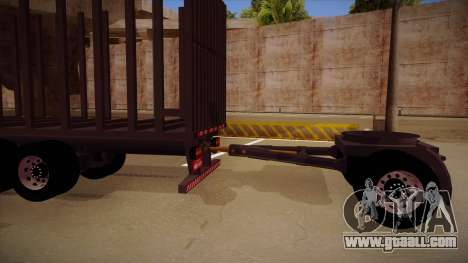 Connecting part of a timber truck trailer to 264 for GTA San Andreas left view