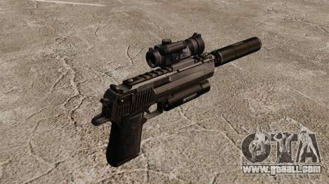 Desert Eagle pistol (tactical) for GTA 4 second screenshot