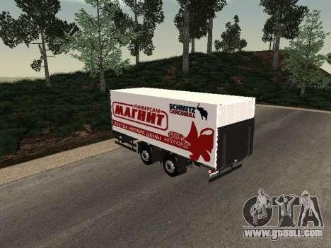 Trailer MAN Magnet for GTA San Andreas