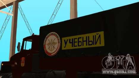 Truck driving school v. 2.0 for GTA San Andreas upper view