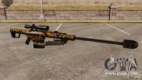 The Barrett M82 sniper rifle v12 for GTA 4