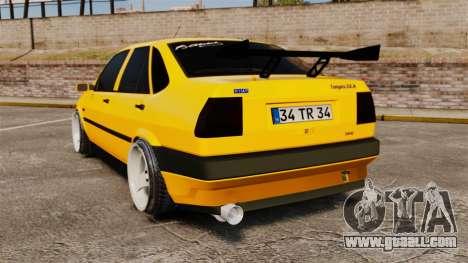 Fiat Tempra TR KeremAkca Edit for GTA 4 back left view