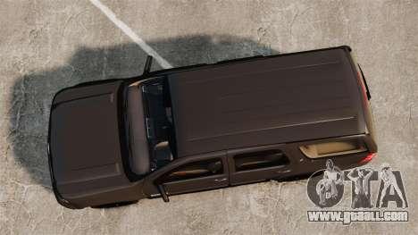 Chevrolet Tahoe Slicktop [ELS] v2 for GTA 4 right view