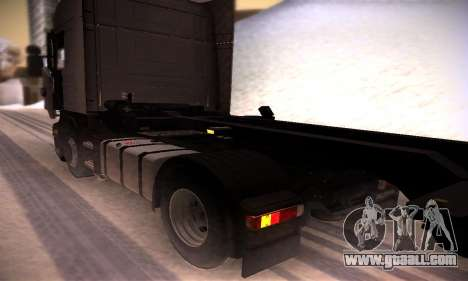 Scania R500 Topline for GTA San Andreas back view