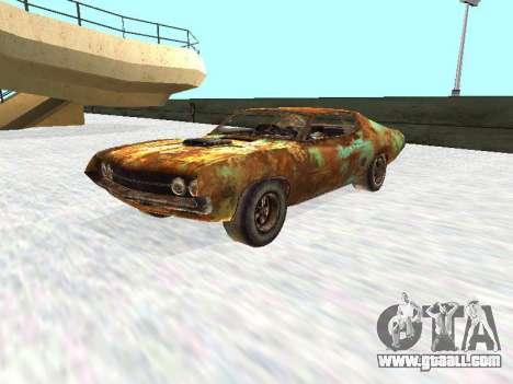 Ford Torino Rusty for GTA San Andreas