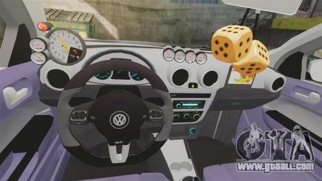 Volkswagen Gol G6 2013 Turbo Socado for GTA 4 inner view