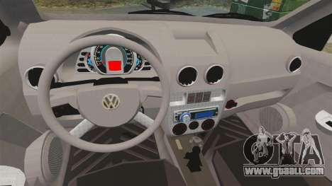 Volkswagen Gol G4 BBS for GTA 4 inner view