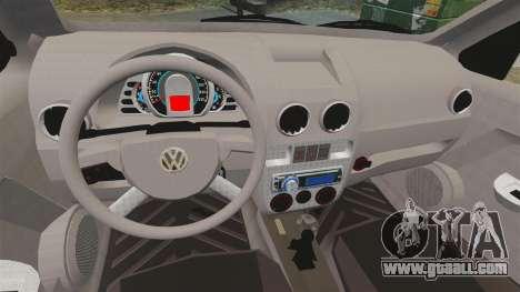 Volkswagen Gol G4 BBS for GTA 4 inner view